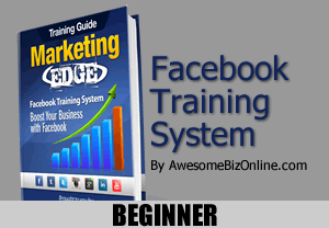 Marketing Edge Facebook Training System