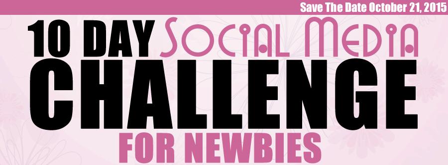 10 Day Social Media Challenge